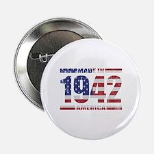 "1942 Made In America 2.25"" Button"