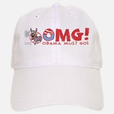 OMG! Anti-Obama Baseball Baseball Cap