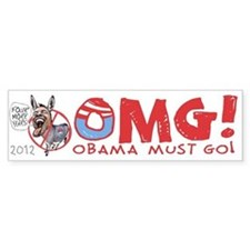 OMG! Anti-Obama Bumper Sticker