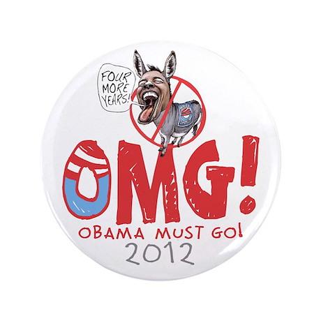 "OMG! Anti-Obama 3.5"" Button"