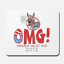 OMG! Anti-Obama Mousepad