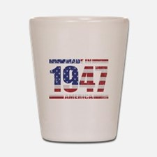 1947 Made In America Shot Glass
