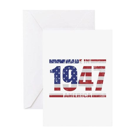 1947 Made In America Greeting Card