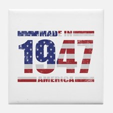 1947 Made In America Tile Coaster