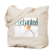 Enchanted (blue+pink) Tote Bag