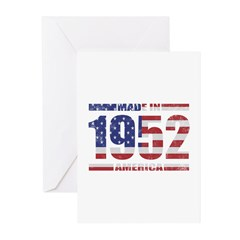 1952 Made In America Greeting Cards (Pk of 20)