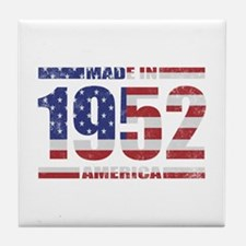1952 Made In America Tile Coaster