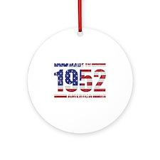 1952 Made In America Ornament (Round)