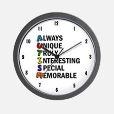 Awesome Autism Wall Clock