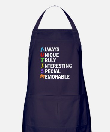 Awesome Autism Apron (dark)