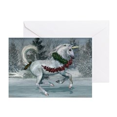 2011 Holiday Unicorn Greeting Cards (Pk of 20)