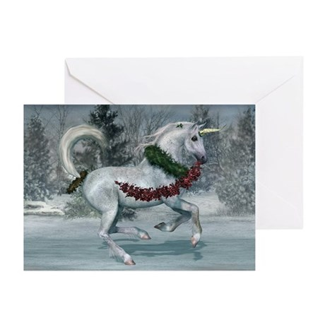 2011 Holiday Unicorn Greeting Cards (Pk of 10)