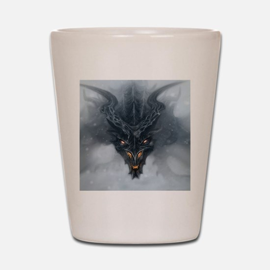 Evil Dragon Shot Glass