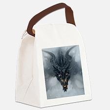 Evil Dragon Canvas Lunch Bag