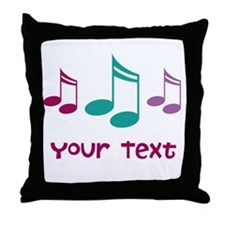 Design Your Own Music Throw Pillow