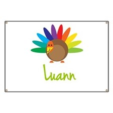 Luann the Turkey Banner