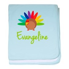 Evangeline the Turkey baby blanket