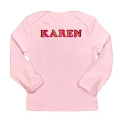 Karen Long Sleeve Infant T-Shirt