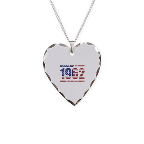 1962 Made In America Necklace Heart Charm