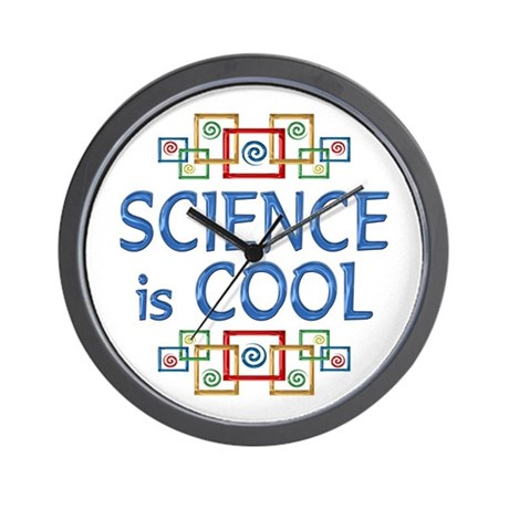 Science is Cool Wall Clock