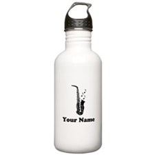 Personalized Saxophone Stainless Water Bottle 1.0L