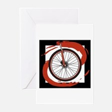 Bicycle Wheel Greeting Cards (Pk of 10)