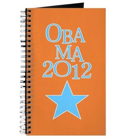 OBAMA 2012 Blue Star Journal