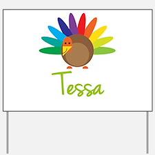 Tessa the Turkey Yard Sign