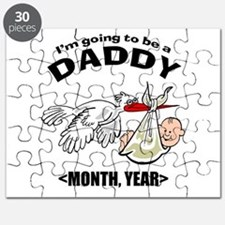 Funny Daddy To Be Personalized Puzzle