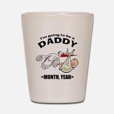 Funny Daddy To Be Personalized Shot Glass