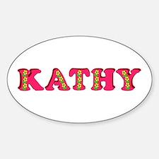 Kathy Sticker (Oval)