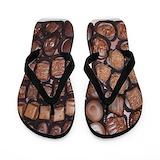 Chocolate Flip Flops