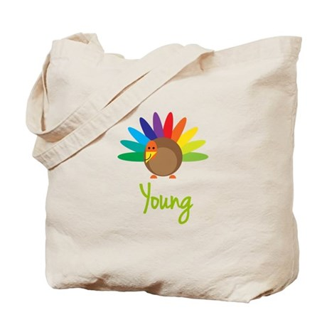 Young the Turkey Tote Bag
