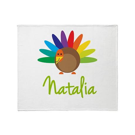 Natalia the Turkey Throw Blanket