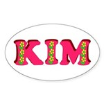 Kim Sticker (Oval)
