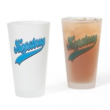Keystone Tackle and Twill Drinking Glass