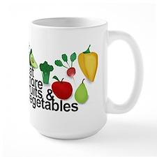 Eat Fruits & Vegetables Mug