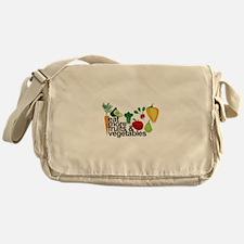 Eat Fruits & Vegetables Messenger Bag