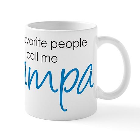 Favorite People Call Me Grampa Mug