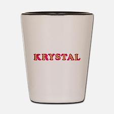 Krystal Shot Glass