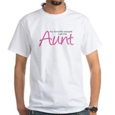 Favorite People Call Me Aunt Shirt