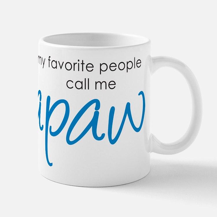 Favorite People Call Me Papaw Mug