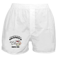 Funny Grandpa To Be Personalized Boxer Shorts