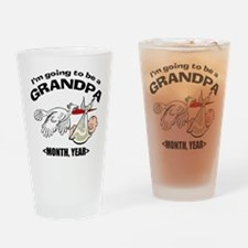 Funny Grandpa To Be Personalized Drinking Glass