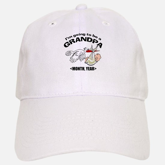 Funny Grandpa To Be Personalized Baseball Baseball Cap