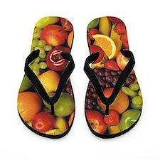 Mixed Fruit Flip Flops