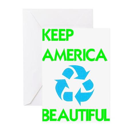 KEEP AMERICA BEAUTIFUL Greeting Cards (Pk of 20)