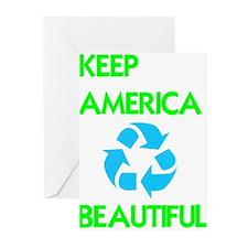 KEEP AMERICA BEAUTIFUL Greeting Cards (Pk of 10)