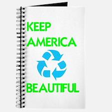 KEEP AMERICA BEAUTIFUL Journal