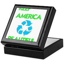 KEEP AMERICA BEAUTIFUL Keepsake Box